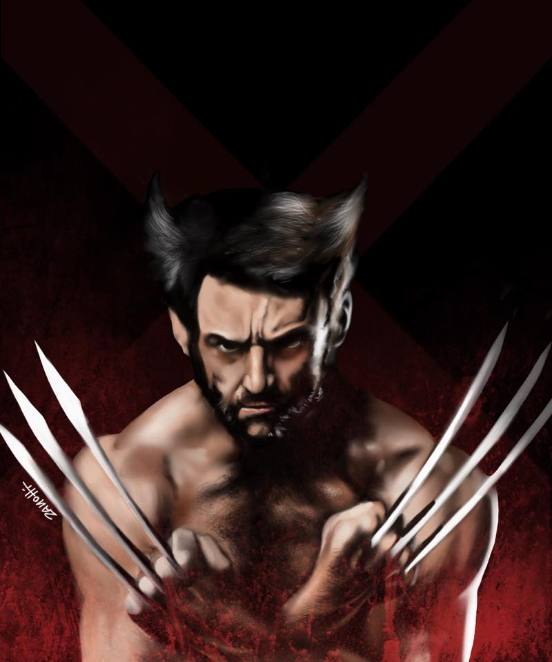 wolverine procereate ipad finer digital art