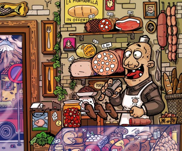 dito su ipad - The Butcher
