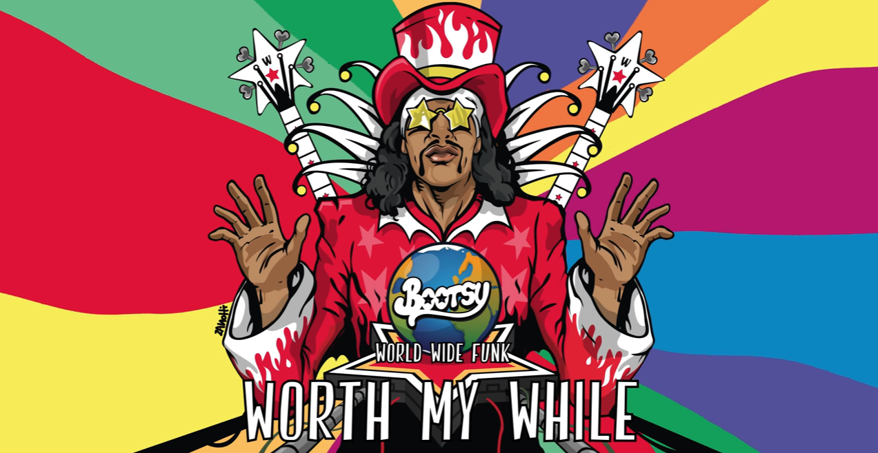 Bootsy Collins new album 2017