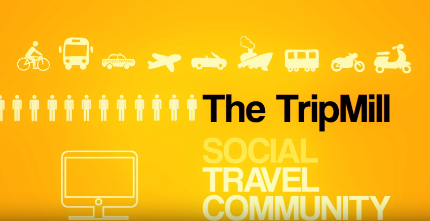 The TripMill infographic video