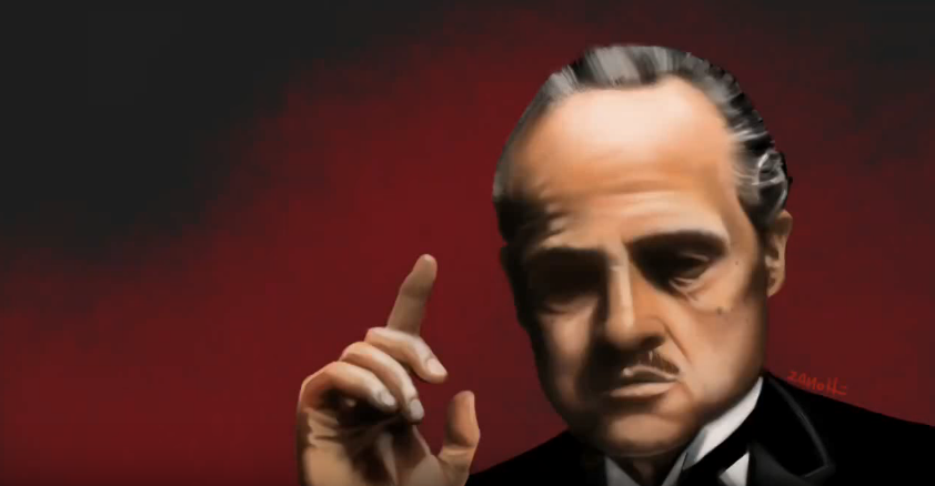 The Godfather – Speed Painting Procreate IPad