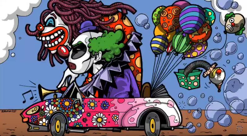 Clowns – Speed Painting Procreate IPad