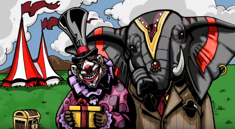 Freak Circus – Speed Painting Procreate IPad