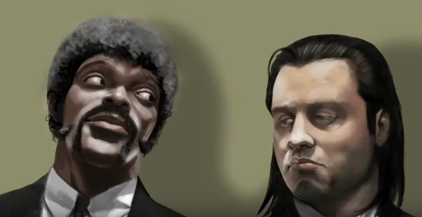 Pulp Fiction – Speed Painting Procreate IPad
