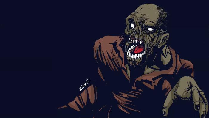 Zombie – Speed Painting Procreate IPad