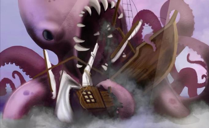 Kraken – Speed Painting Procreate IPad