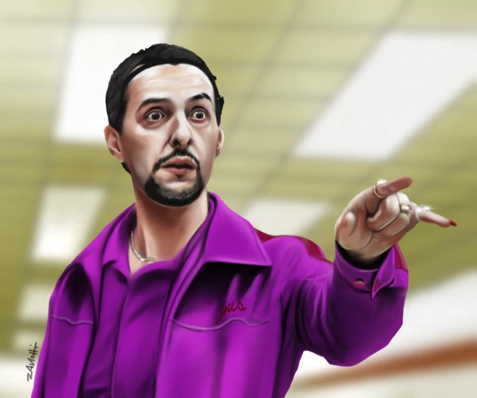 john turturro Jesus Big Lebowsky Procreate rt
