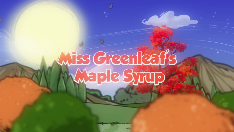 Miss Greenleaf's Maple Syrup
