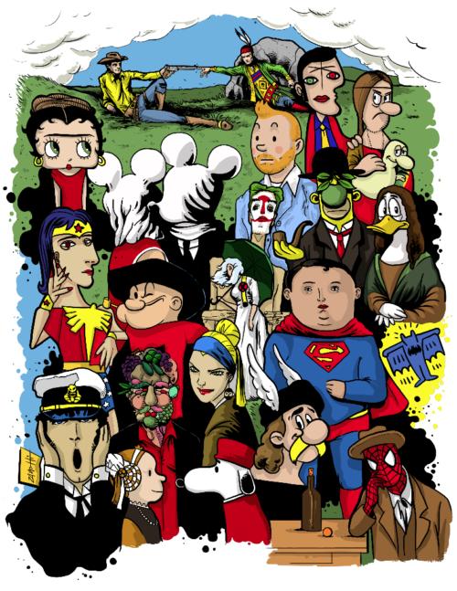 Cover Biennale del Fumetto