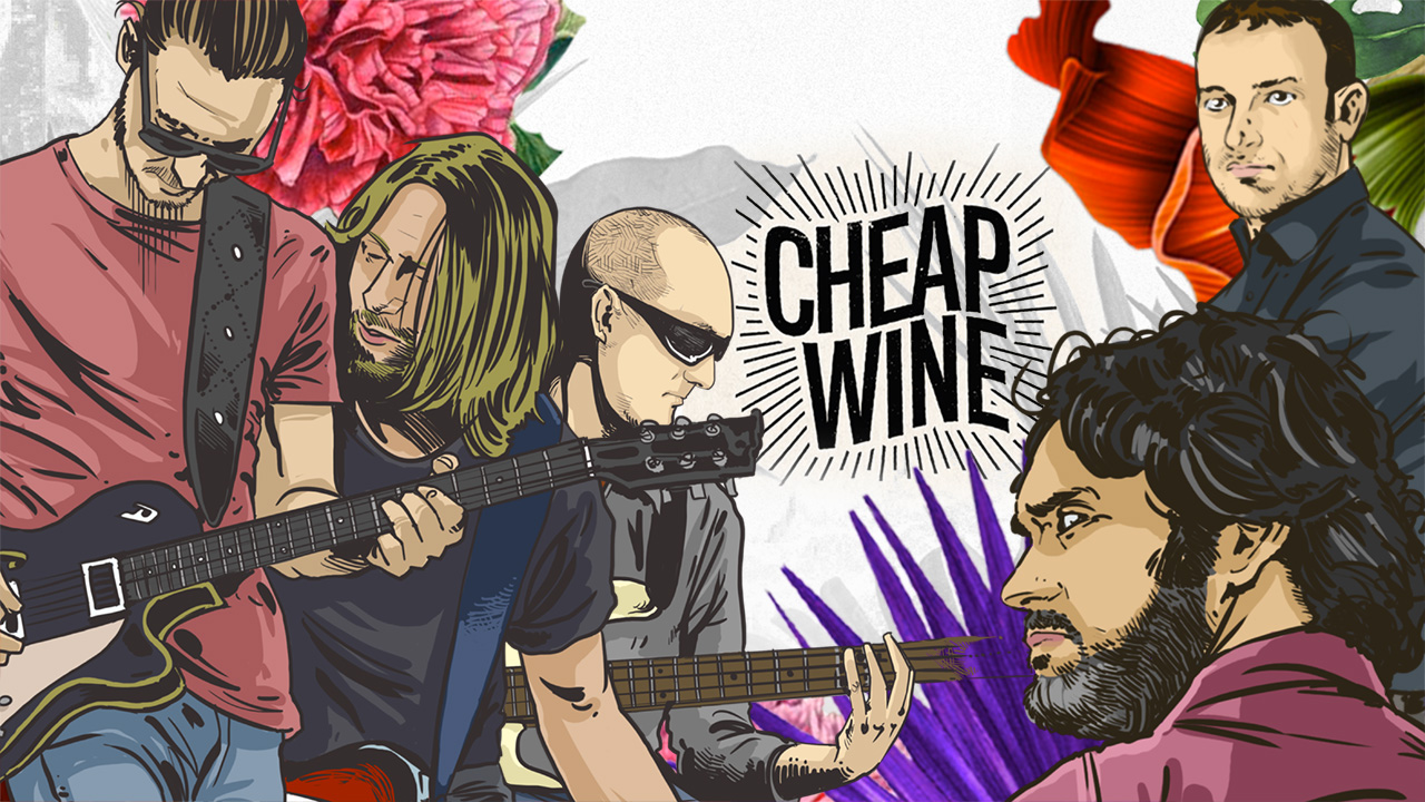 """Full of Glow"" Cheap Wine lyrics video"