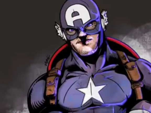 Speed Painting Capitan America Procreate ipad