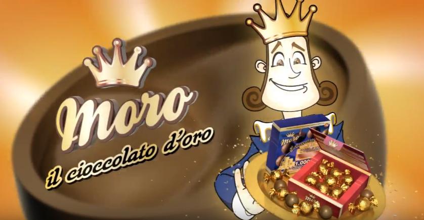 Moro il Cioccolato d' Oro – spot