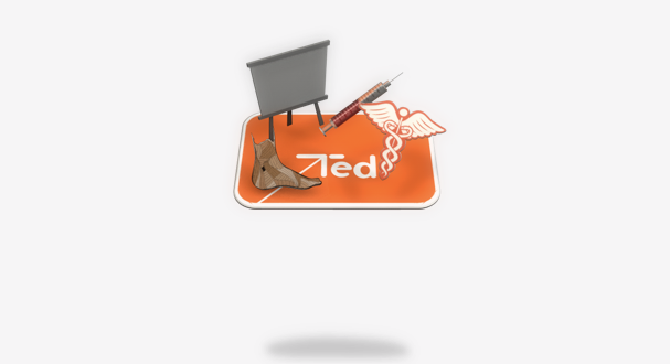 Ted Channel Sky – Logo ID